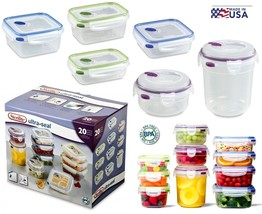 The Food container for food storage 20 PC - $44.99