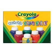 Crayola Washable Kids Paint 2oz 6-Pkg - $4.99