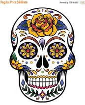 Sugar Skull - pop art - 138 x 199 stitches - Cross Stitch Pattern L684 - $3.99