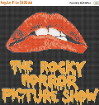Rocky horror picture show - 120 x 120 stitches - Cross Stitch Pattern L339 - $3.99