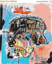 Radiant Child by Basquiat - 331 x 389 stitches - Cross Stitch Pattern L386 - $3.99