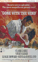 Gone with the wind - 230 x 363 stitches - Cross Stitch Pattern L150 - $3.99