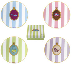 MEDARD DE NOBLAT Limoges gift box set of 4 SHOP... - $60.78