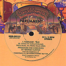 Parliament - Flash Light / Up For The Down Stroke 12inch Vinyl Record - £5.61 GBP