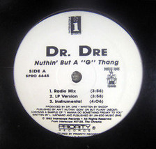 Dr Dre - Nothing But A G Thang - 12inch Single Vinyl Record - £5.61 GBP