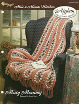 Needlecraft Shop Crochet Pattern 942050 Misty Morning Afghan Collectors ... - $4.99