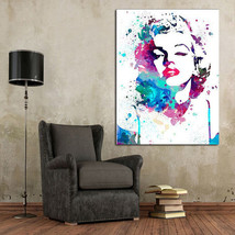 Hand-painted abstract pop art oil Painting Mari... - $83.16