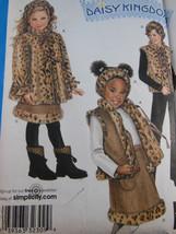 SIMPLICITY Pattern 2780 Daisy Kingdom Vest Coat Skirt Child's Size 3 4 5 6 7 8 - $4.84