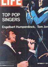 Life Magazine September 18,1970-Top Pop Singers-Engelbert Humperdinck,Tom Jones - $14.99
