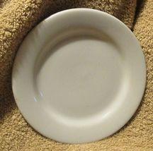 "Buffalo China Blue Lune 6 1/2"" Bread Dessert Plate Vtg Restaurant Ware U-12 - $3.99"