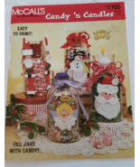 Candy 'n Candles McCall's Creates Craft Pattern... - $5.95