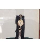 Women's Vintage Silver Tone Diamond Elgin 19 Dr... - $26.73