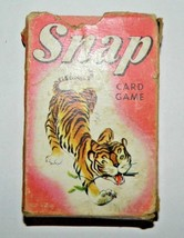 Vintage 1060's Snap Card Game By Whitman - Complete Set - $6.76