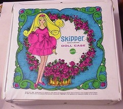 Vintage Mattel SKIPPER DOLL CASE Barbie's Little Sister 1969 - $19.95