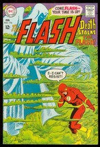 The Flash #176 1968-DC COMICS-WILD COVER-DEATH Issue Fn+ - $37.83