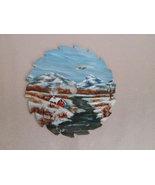 Mini Winter Mountain Scene Sawblade 3