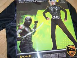Boys Size Medium 7-8 G I Joe The Rise of Cobra Duke Costume & Mask New - $24.00