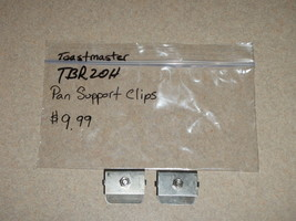 Toastmaster Bread Maker Machine Pan Support Clips Model TBR20H  - $9.49