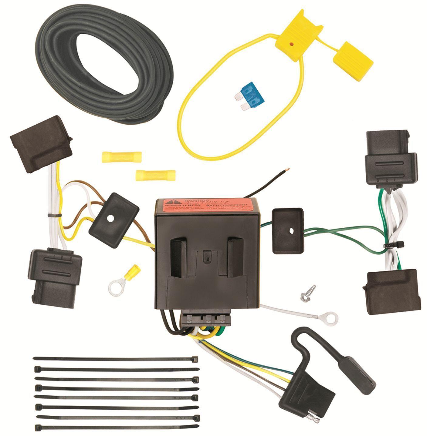 2008 2014 ford e 150 250 350 trailer hitch wiring kit. Black Bedroom Furniture Sets. Home Design Ideas