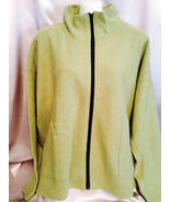Microfiber Jacket, Olive Green, One Size Fits All,  Preowned, Gently Worn - $12.50