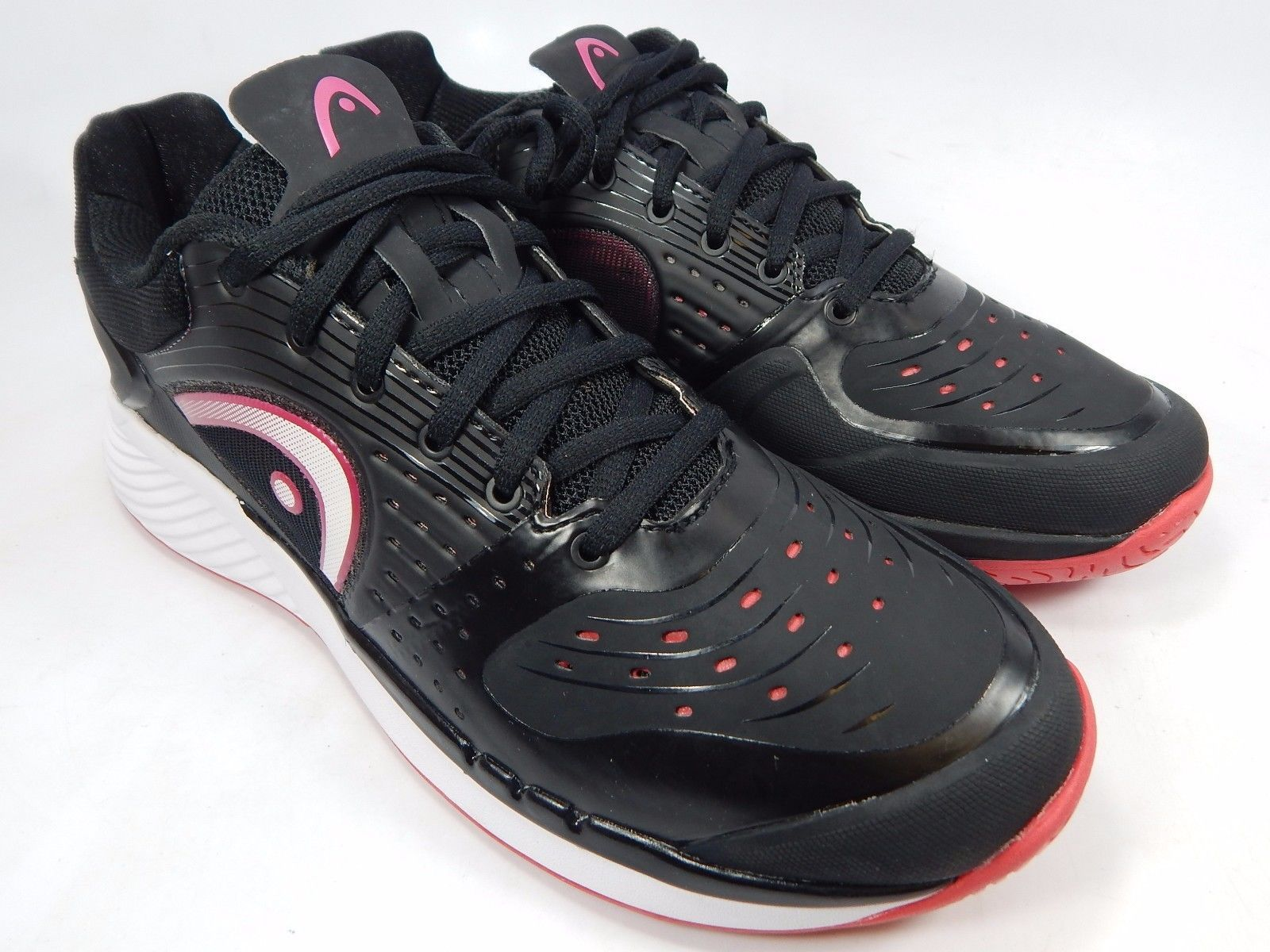 Head Sprint Pro Women's Tennis Court Shoes Size US 11 M (B) EU 43 Black Pink