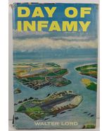Day of Infamy Walter Lord Pearl Harbor Attack 1957 HC/DJ - $4.99