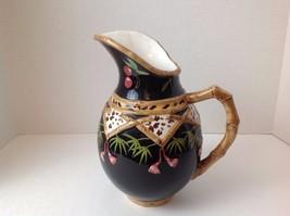 "Vintage Terri Beavers Hand Painted ""Bamboo Forr... - $148.49"
