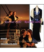 Replica Titanic Rose Flying Dress Costume Victorian - Custom Tailed in A... - $107.91