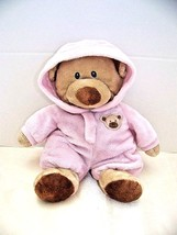 "Ty Pluffies Pj Bear 9"" Pink  - $5.32"