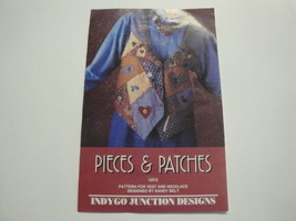 Pieces & Patches Vest and Necklace Pattern-Indy... - $7.95