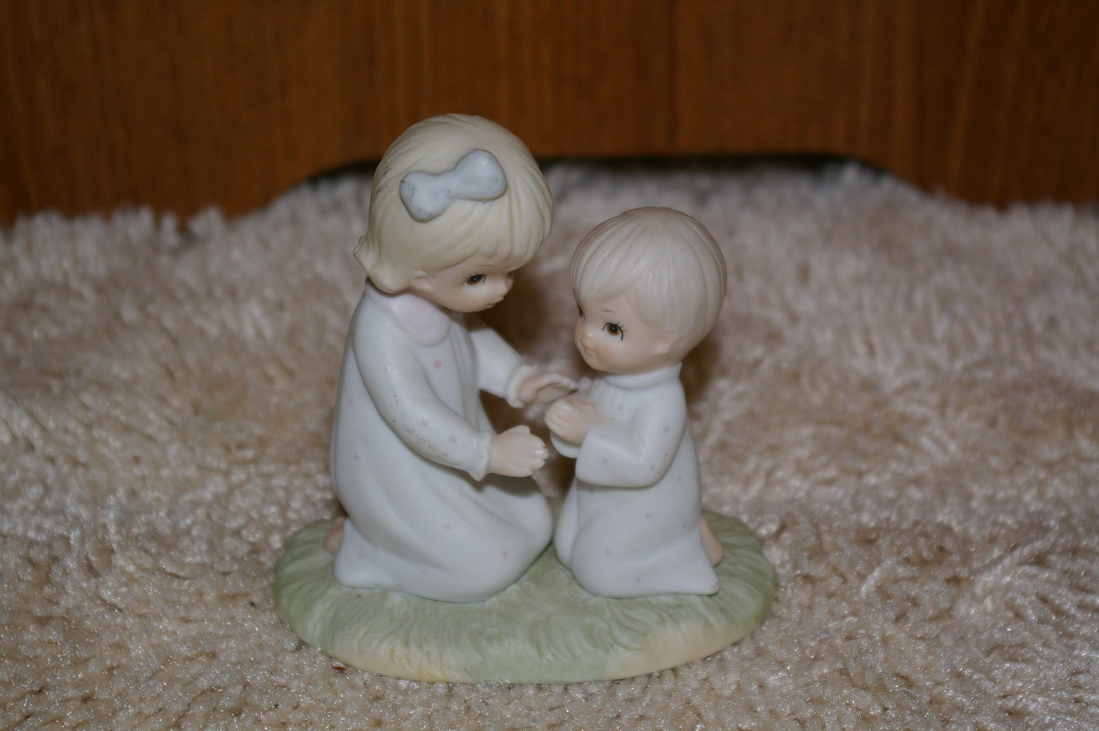 Lefton China Figurine Prayer Changes Things 03848