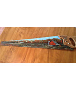 Hand Painted Vintage Handsaw, Fall, Country Dai... - $56.00