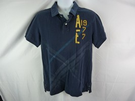 American Eagle Outfitters Blue Polo Size Large - $3.00