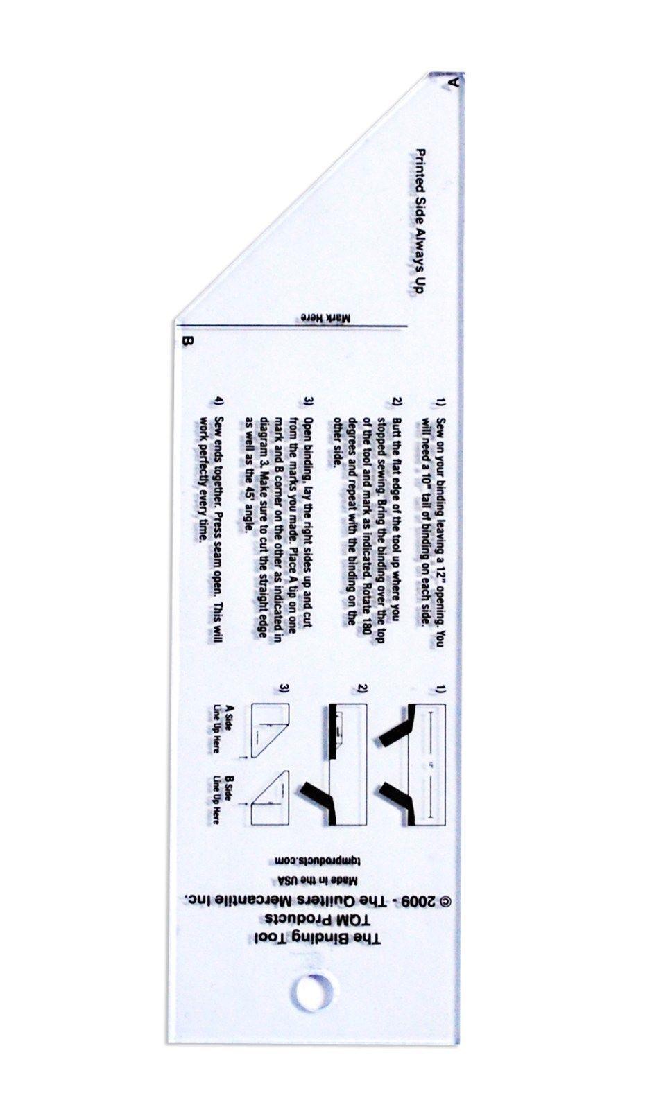 "The Binding Tool 6"" Acrylic Plastic TQMTBT"