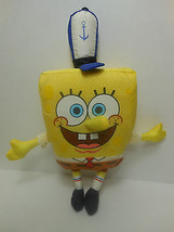 SpongeBob Squarepants Anchor Hat 2002 Viacom Mini Plush Hilenburg Design... - $18.79