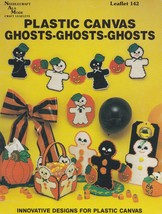 Ghosts Ghosts Ghosts, Needlecraft Ala Mode Plastic Canvas Pattern Bookle... - $2.95