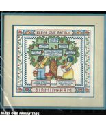"""Dimensions Stamped Cross Stitch Bless Our Family Tree Kit 16"""" x 14"""" - $16.99"""