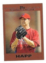 2007 Topps Update Copper J.A. Happ Rookie Rc!! 07/56!! Philadelphia Phillies - $37.25