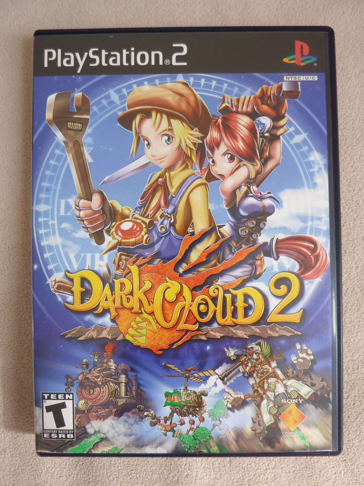 Dark Cloud 2 (PlayStation 2, 2003) Black Label Complete PS2 RPG Free Shipping!!!