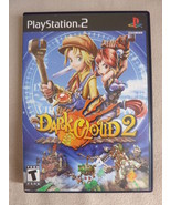 Dark Cloud 2 (PlayStation 2, 2003) Black Label Complete PS2 RPG Free Shipping!!! - $32.61