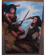 Wonder Woman vs Lady Sif Glossy Print 11 x 17 I... - $24.99