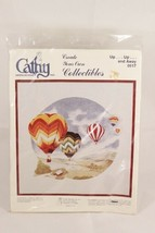 Cathy Needlecraft Up Up and Away Hot Air Balloon Embroidery Kit 0517 - $22.27