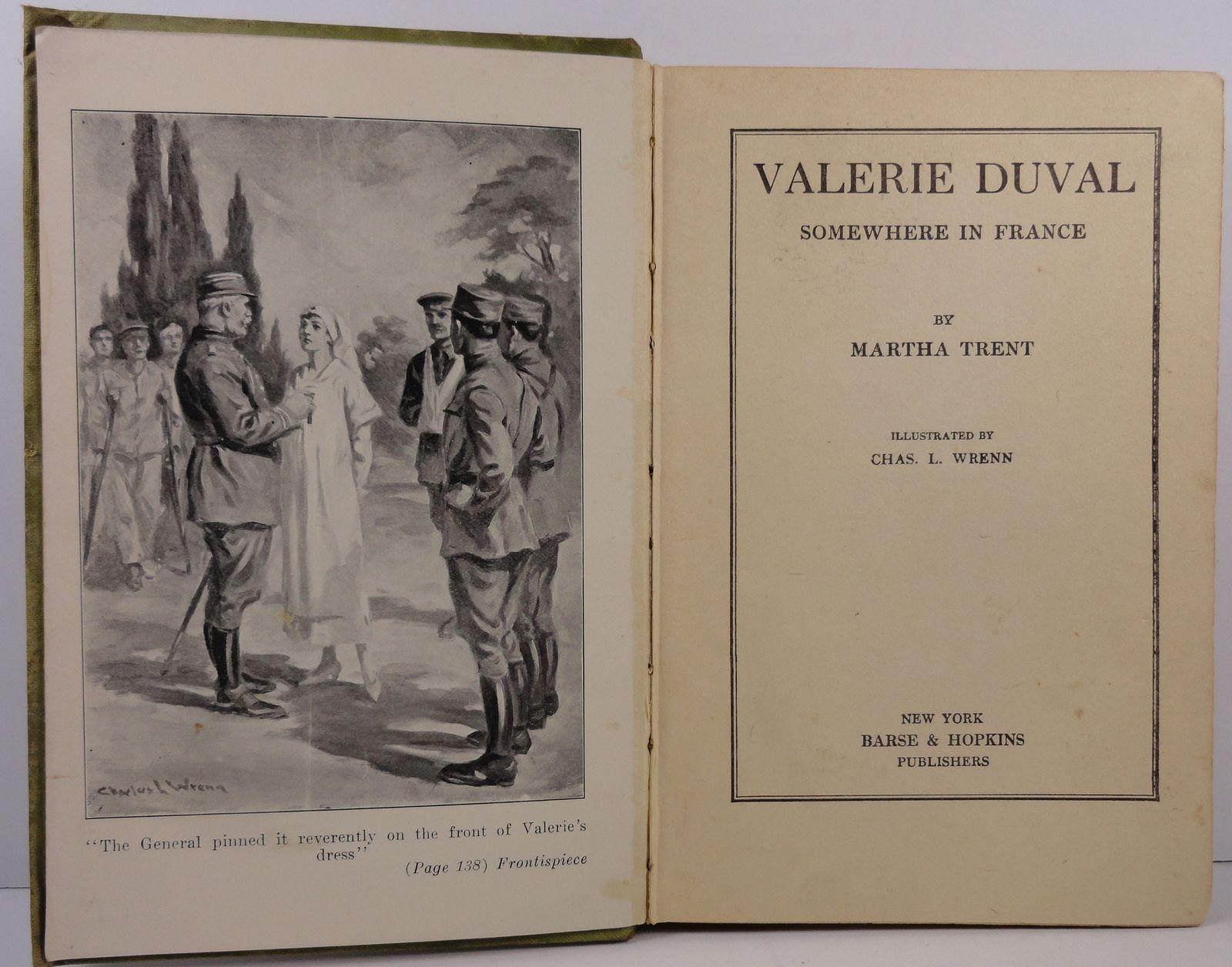 Valerie Duval Somewhere in France by Martha Trent 1918