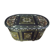 Moroccan Handmade Storage Rustic Chest Trunk Coffee Table - €1.564,39 EUR