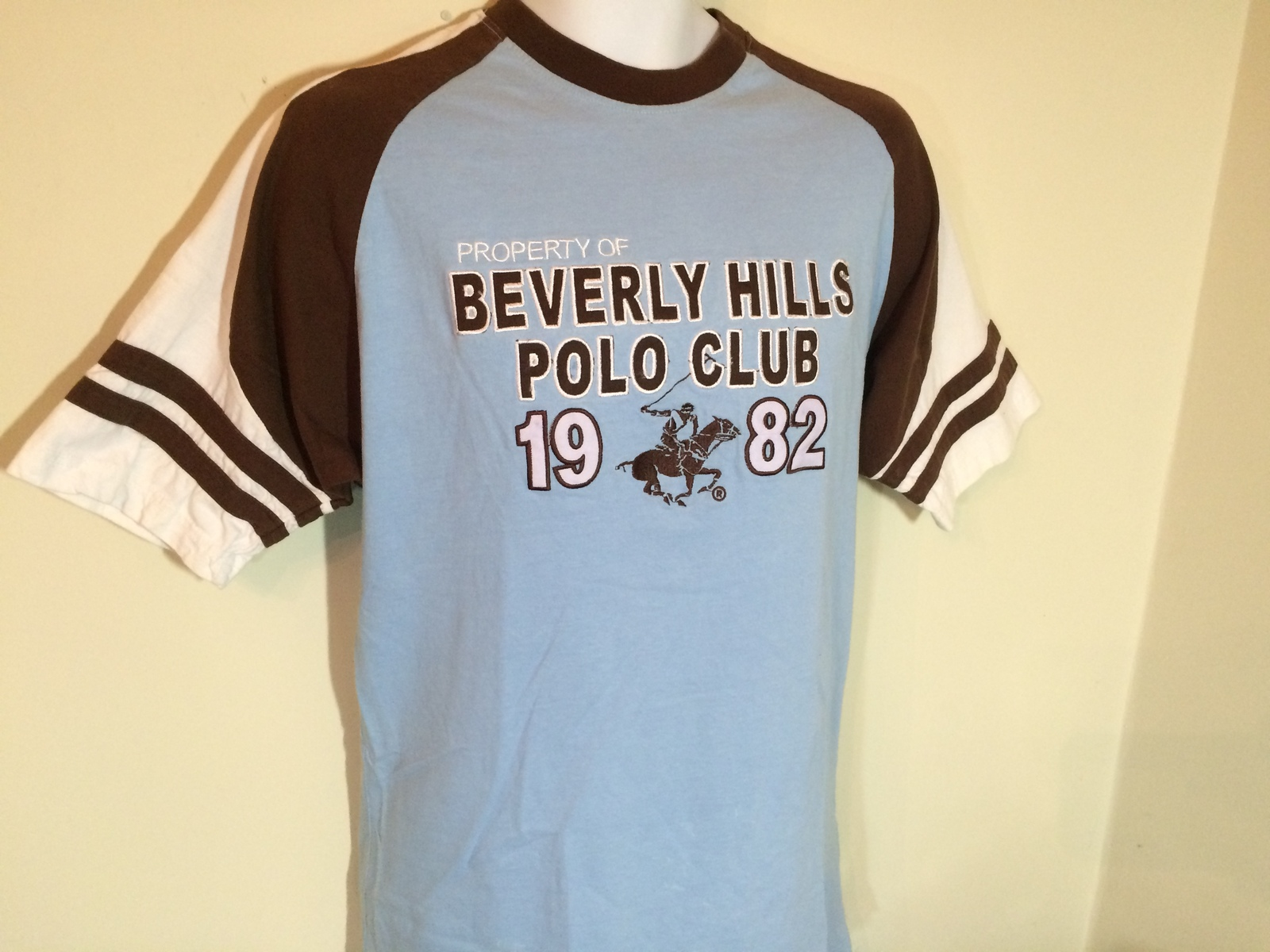 Beverly Hills Polo Club Since 1982 T Shirt 100 Cotton L