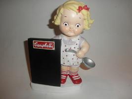 CAMPBELL'S KID BANK w/ Chalkboard Girl w/ Soup ... - $24.70