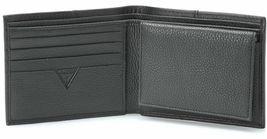 Guess Men's Premium Leather Credit Card ID Billfold Wallet Black 31GU22X003 image 3