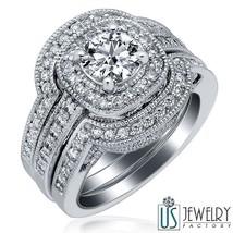 1.53 ct (0.73) F/G-VS1 100% Natural Round Excellent Diamond Engagement R... - £3,275.85 GBP