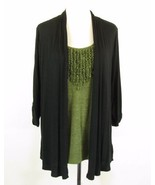 I.N. STUDIO Plus Size 2X Lightweight Knit Layer... - $27.99