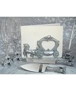 Silver Coach Fairytale Wedding Accessories Set ... - $47.22